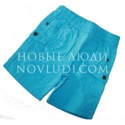 Бирюзовые шорты для мальчика UBS2