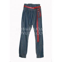 Брюки джинс для девочки Wojcik SUMMER PARTY (WAKACYJNA IMPREZA) 128-158