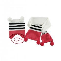Комплект(шапка+шарф+рукавички) Wojcik Fluffy cuddly 68-98