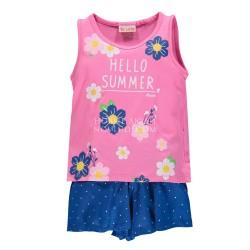 Комплект топ + юбка-шорты для девочки BRUMS