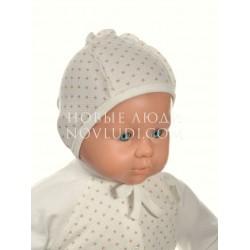 Чепчик для новорожденного коллекция Кантри Трия