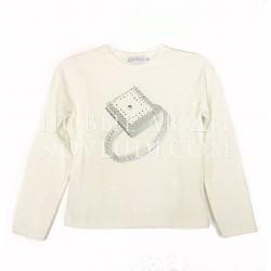 Блузка для девочки DMNK Silver world