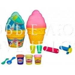 PLAY-DOH. Набор Контейнер с мороженым 3+