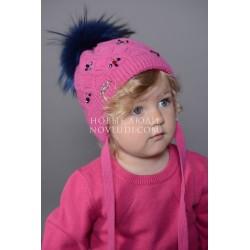 Зимняя шапка для девочки Драгоценность Mialt