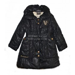 Пальто для девочки Wojcik на изософте