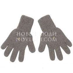 Коричневые перчатки Димка Mialt