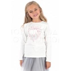 Блузка для девочки Wojcik  FEEL MUSIC (POCZUĆ MUZYKĘ) 116 - 158 cm (Lady Diamond)