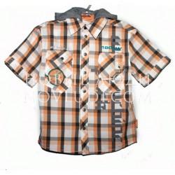Рубашка с капюшоном для мальчика Wojcik WIND TURBINE PARK2