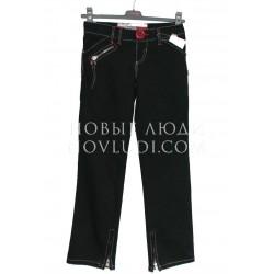 Брюки джинс для девочки Dominka Silver rose 128-152