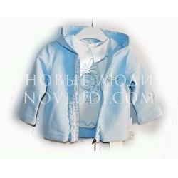 Сет блуза с футболкой для малышки Wojcik Spacer na lace2