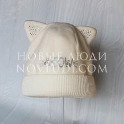 Флисовая шапка с ушками Broel SWEET