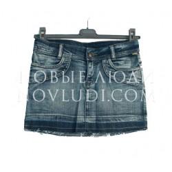 Юбка джинс для девочки Besta+