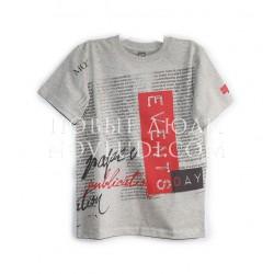 Серая футболка для подростка Besta+