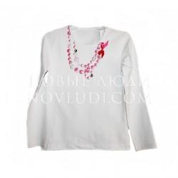 Блузка с имитацией бус Daga
