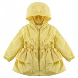 Куртка ветровка утепленная для девочкиWojcik  SPRING FLOWERS(WIOSENNE KWIATY) 68 - 98 cm