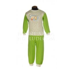 Детская теплая пижама Трия