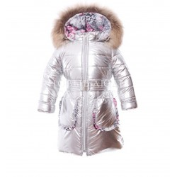 LEOPARD Пальто для девочки Pilguni
