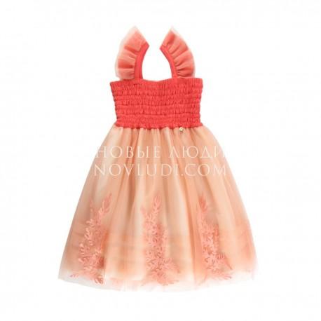 Нарядное платье для девочки Wojcik SEA STORY (MORSKA OPOWIEŚĆ)116 - 152 cm