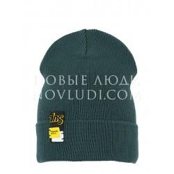 Шапка для мальчика КРУТОЙ ПЕРЕЦ Mialt цвет серо-зеленый