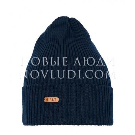 Темно-синяя шапка для подростка Магистраль Mialt