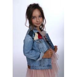 Джинсовая куртка Wojcik для девочки